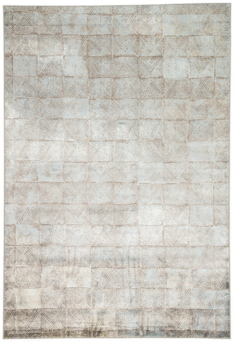 Jaipur Living Sotto Geometric Brown/ Blue Area Rug (2'X3')