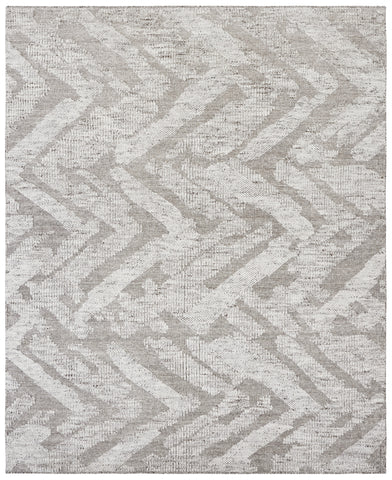 Hand-knotted Wool Grey Contemporary Transitional Lori Baft Rug