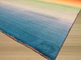 Contemporary Rainbow Rug