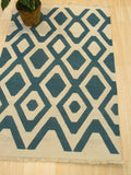 Ivory Transitional Indoor/Outdoor Kilim Rug