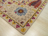 Ivory Transitional Paisley Rug