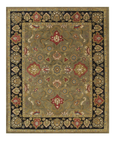 Green Navin Hand-tufted Wool Rug