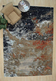 Hand-tufted Wool Multi Transitional Transitional Wiled Tufted Rug