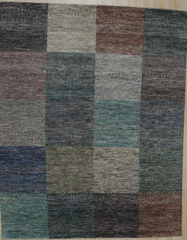 Hand-knotted Wool MULTI Contemporary Abstract Galaxy Rug