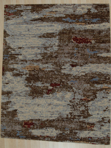 Hand-knotted Wool TBC Contemporary Abstract Galaxy Rug