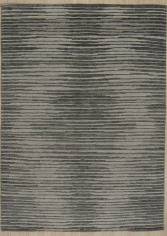 Handknotted Wool N.GREY Transitional Modern Modern Kmot Rug