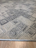 Handknotted Wool BEIGE Traditional Medallion Heriz Weave  Rug