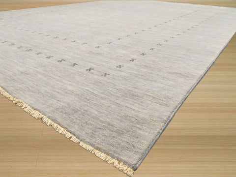 Gray Transitional Lori Baft Rug