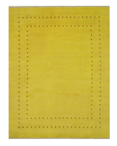Yellow Transitional Lori Baft Rug