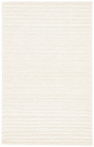 Jaipur Living Sterling Handmade Solid White Area Rug (5'X8')