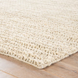Jaipur Living Tango Natural Solid Silver/ White Area Rug