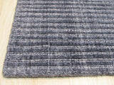 Blue/Gray Solid Handmade Legend Rug