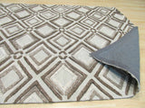 Beige Contemporary Raga Rug