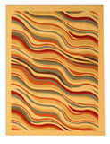 Beige Contemporary Abstract Euro Home Rug