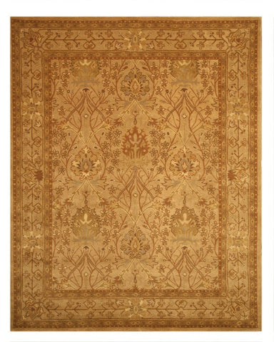 Hand-tufted Wool Beige Traditional Oriental Morris Rug