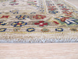 Ivory Traditional Morris Rug