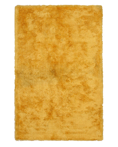 Yellow Contemporary London Shag Rug