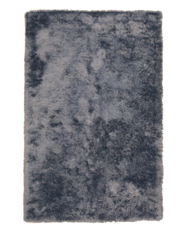 Gray Contemporary London Shag Rug