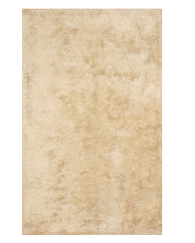 Ivory Contemporary London Shag Rug