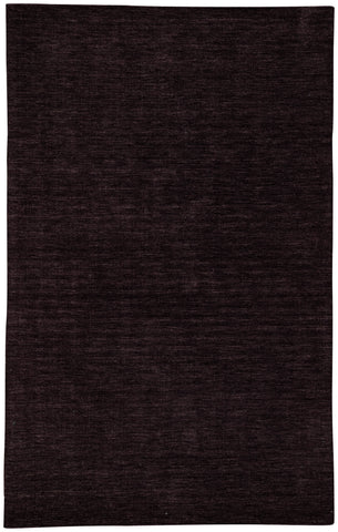 Jaipur Living Adelia Handmade Solid Dark Brown Area Rug (9'X13')