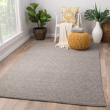 Jaipur Living Stanford Handmade Geometric Taupe/ Gray Area Rug