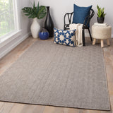 Jaipur Living Snowberry Handmade Geometric Brown/ Gray Area Rug
