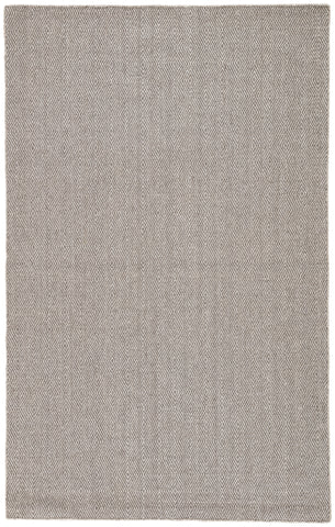 Jaipur Living Snowberry Handmade Geometric Brown/ Gray Area Rug (9'X12')