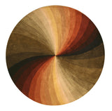 Hand-tufted Wool Contemporary Abstract Swirl Rug