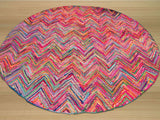 Transitional Sari Chevron Rug