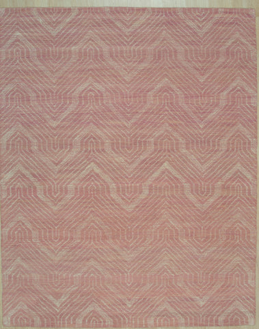 Hand-tufted Wool Pink Contemporary Transitional Spring 2020 Rug