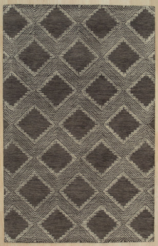 Hand-tufted Wool Charcoal Contemporary Transitional Spring 2020 Rug