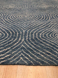 Hand-tufted Wool Blue Contemporary Transitional Spring 2020 Rug