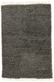 Jaipur Living Tala Hand-Knotted Solid Dark Gray/ Silver Area Rug (9'X13')