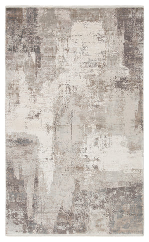 "Jaipur Living Skyler Abstract Gray/ Taupe Runner Rug (2'6""X8')"