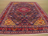 Blue Traditional Mei-Mei Rug, 9'4 x 12'3