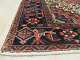 Rust Traditional Heriz Rug, 7'9 x 10'8