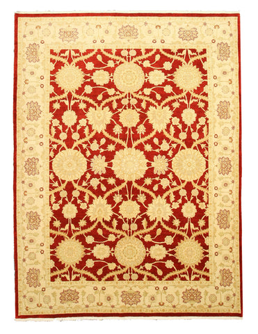 Hand-knotted Wool Red Traditional Oriental Lori Rug (8'3 x 11')