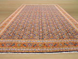 Blue Traditional Mahi Tabriz Rug, 8'5 x 13'8