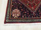 Rust Traditional Abadeh Rug, 2'2 x 3'3