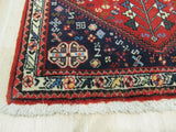 Rust Traditional Abadeh Rug, 2'4 x 3'5