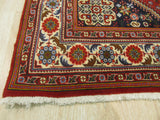 Red Traditional Abadeh Rug, 4'1 x 6'5