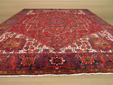Rust Traditional Heriz Rug, 10'2 x 12'10