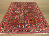 Multicolored Traditional Bakhtiar Rug, 6'10 x 9'2