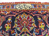 Red Traditional Shadsar Kashan Rug, 4'9 x 7'1