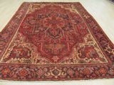 Rust Traditional Heriz Rug, 8'4 x 11'10
