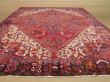 Red Traditional Heriz Rug, 10'1 x 12'8