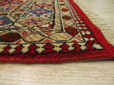 Red Traditional Yalameh Rug, 6'9 x 9'9