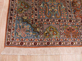 Multicolored Traditional Kashmir Rug, 4' x 6'