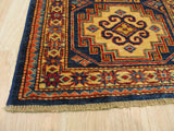 Red Traditional Super Kazak Rug, 2'3 x 6'
