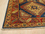Red Traditional Super Kazak Rug, 2'11 x 6'11